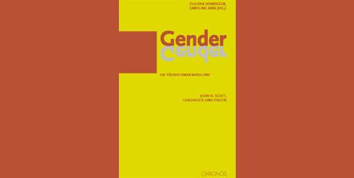 """Buchcover von """"Gender. Die Tücken einer Kategorie""""."""